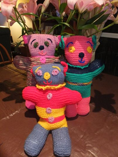 more beautiful teddies from Kuatarina & Raane, Mullumbimby NSW
